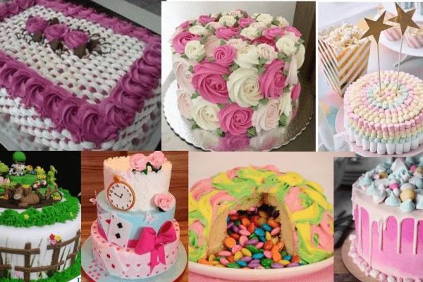 Idéias incríveis de decoração de bolos com chantilly